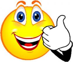 Smiley clipart happy face