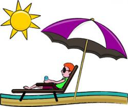 Lounge clipart umbrella