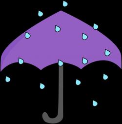 Umbrella clipart umbrella raindrops