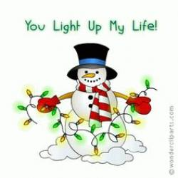 Christmas Lights clipart reminder