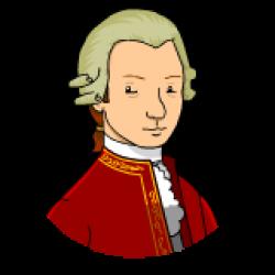 Mozart clipart