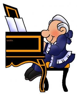 Mozart clipart Bach Clipart