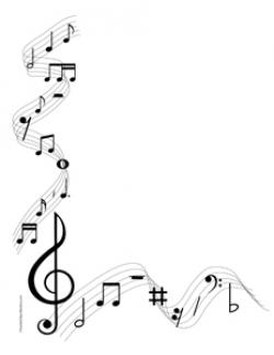 Music Notes clipart decorative