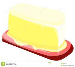 Butter clipart vector