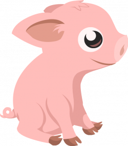 Boar clipart cute