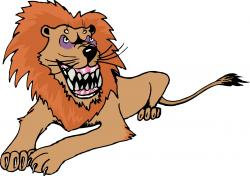 Lioness clipart animated