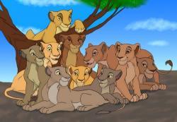 Mufasa clipart lion pride