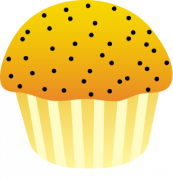 Blueberry Muffin clipart cute