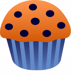 Blueberry Muffin clipart cartoon