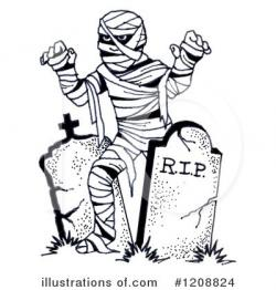 Mummy clipart cemetery