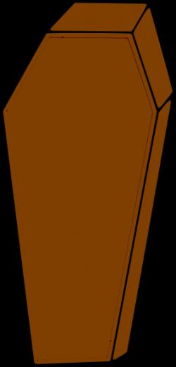 Coffin clipart cartoon