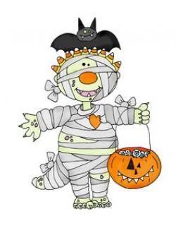 Mummy clipart cute halloween