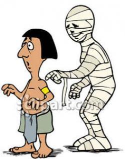 Mummy clipart egyptian man
