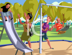 Pl clipart children park