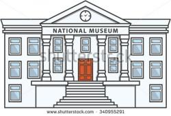 Gallery clipart museum building