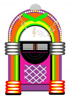 Music clipart 50's