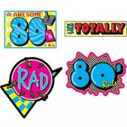 Party clipart 80's
