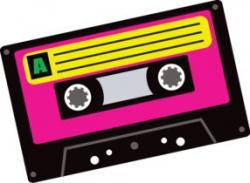 Music clipart 80's