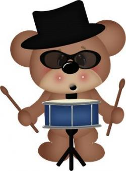 Music clipart bear