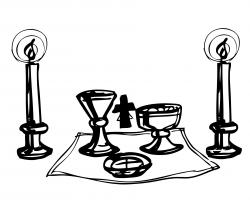 Altar clipart catholic altar