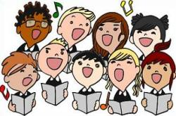 Singer clipart choir