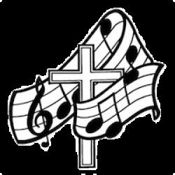 Music clipart cross