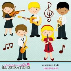 Noise clipart kid band