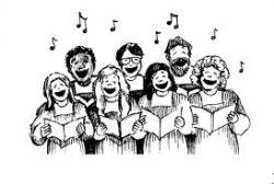 Singer clipart pleasant sounds