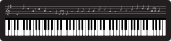 Music clipart keyboard