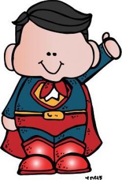 Superman clipart melonheadz