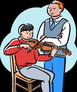 Violin clipart teaching