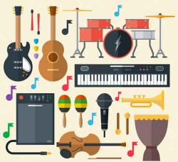 Music clipart musical instrument