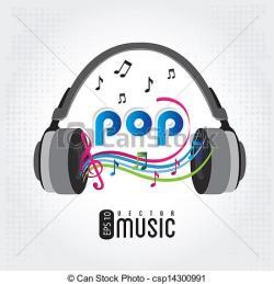 Music clipart pop music