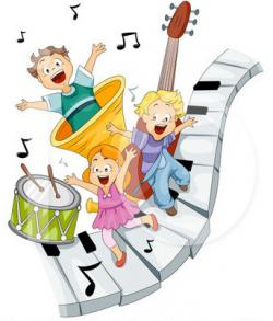 Music clipart preschool music