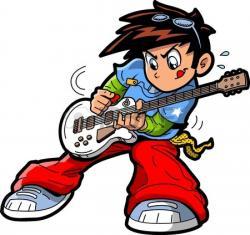 Punk clipart rockstar