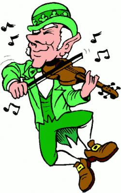 Music clipart st patricks day