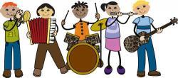 Musician clipart band