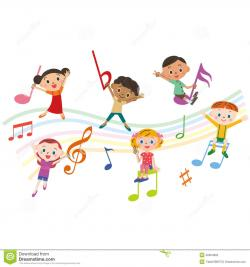 Music Notes clipart childrens