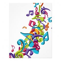 Music Notes clipart choral music