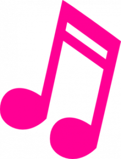 Music Notes clipart colourful
