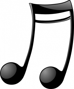 Music Notes clipart double