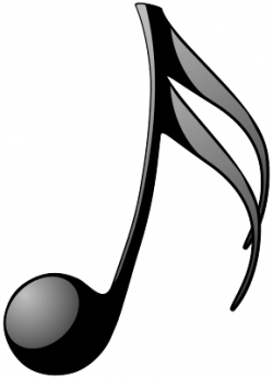 Music Notes clipart fancy