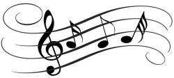 Music Notes clipart hearing music