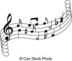 Music clipart music staff