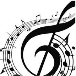 Music Notes clipart smoke