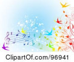 Music Notes clipart spring