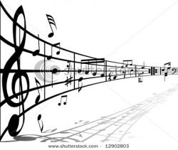 Music Notes clipart staff clipart
