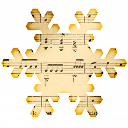Music clipart winter music