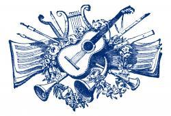 Sheet Music clipart musical show
