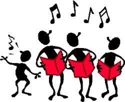 Serenade clipart child choir